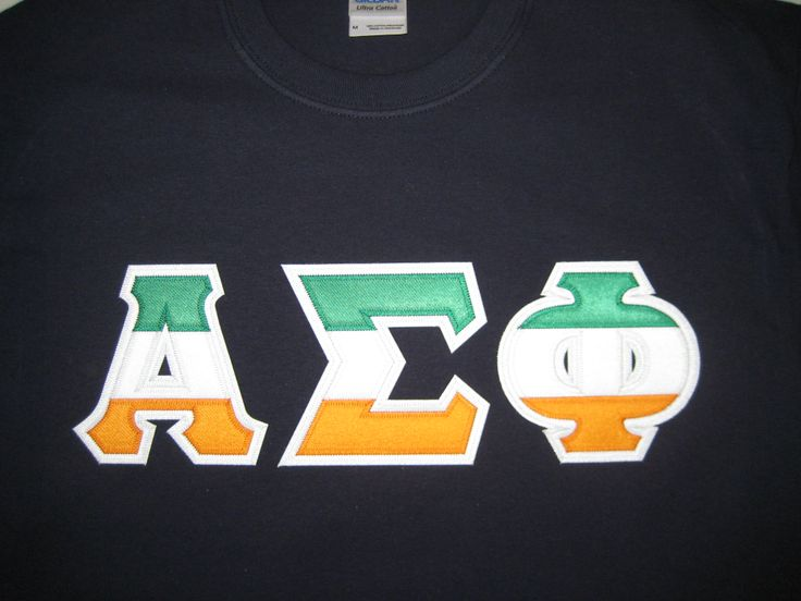 478ab6d8 Custom Greek Letter Shirt. Es Dee Apparel » Greek Apparel. Custom ...