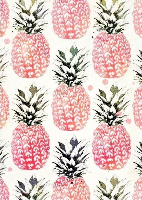 Can't resist a good pineapple print.