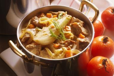 Veal Stew with Paprika and Sour Cream - Eising/Photodisc/Getty Images