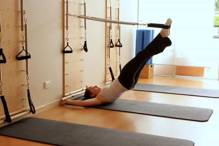 Springboard Pilates.   Space saver for the home & not bulky.