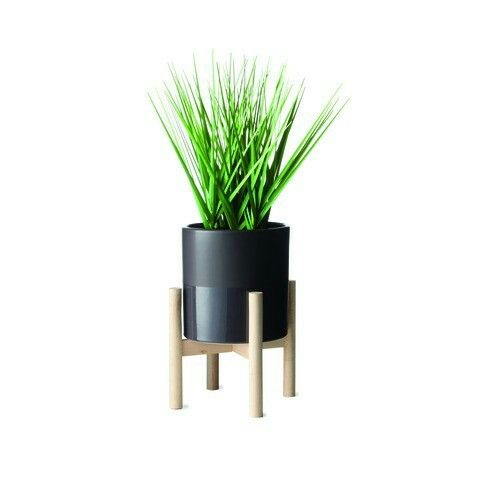 Kmart faux plant and stand