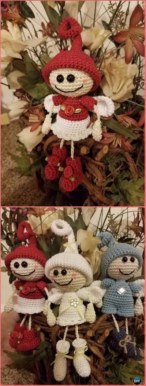 Crochet Guardian Angel Boys Free Pattern - Crochet Angel Free Patterns