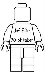 Verjaardagskalender lego-mannetjes