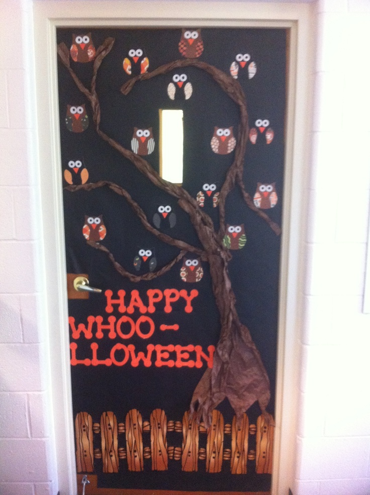 27 Best Images About Halloween Teacher Doors For Trick Or