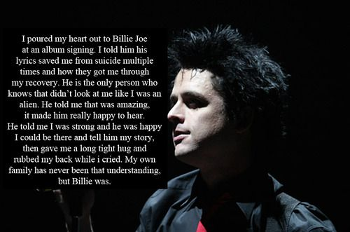 billie joe armstrong quotes about adrienne - Google Search