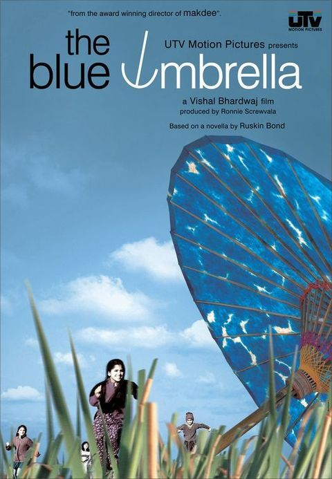 The Blue Umbrella   The Blue Umbrella is the story of Biniya, a girl who lives in a tiny Garhwal via @Affimity