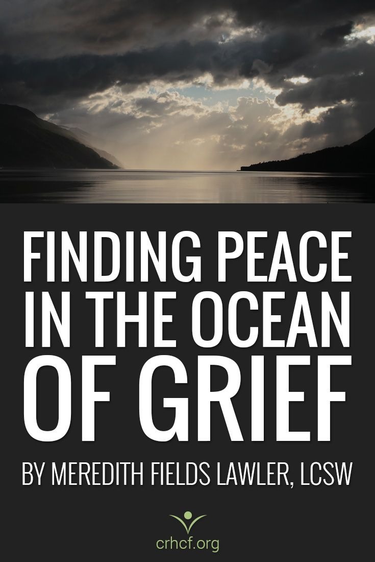 In grief after the death of her father, Licensed Social Worker Meredith Fields Lawler shares how she is finding peace while in the bereavement process.
