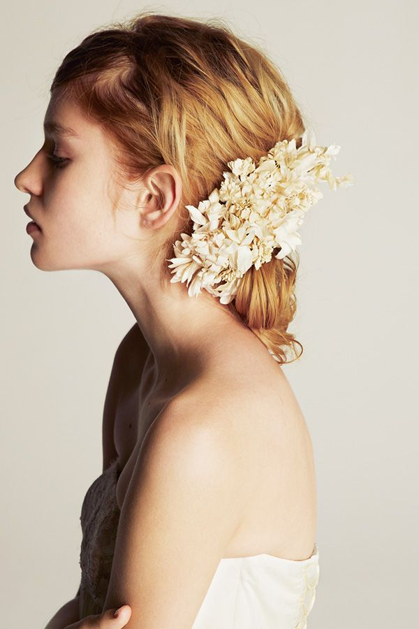 【ウエディング Wedding ヘッドアクセサリー head accessory】2013 Bridal Dress Edit from Deuxieme Classe | Deuxieme Classe