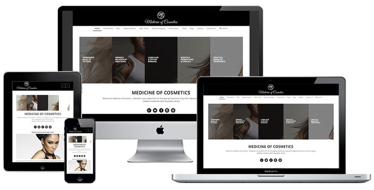 Ivolution Consulting - Adelaide Website Design - Medicine of Cosmetics