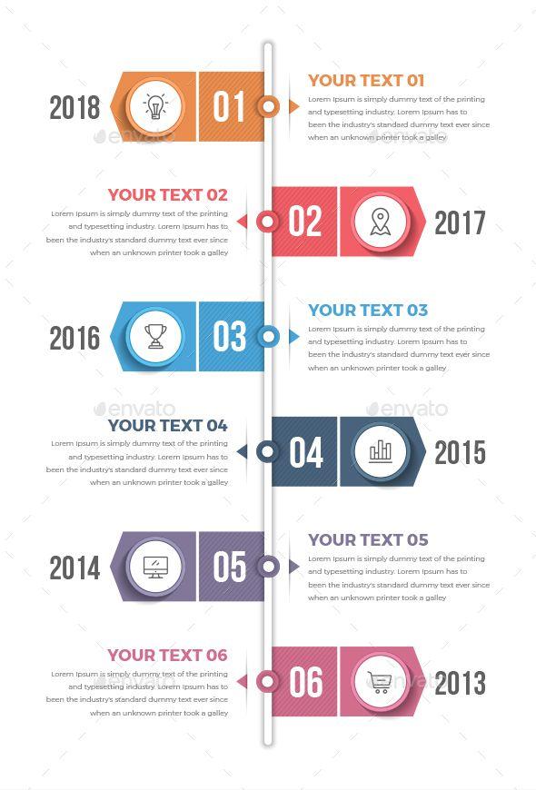 Vertical Timeline Infographics Infographic Layout Timeline