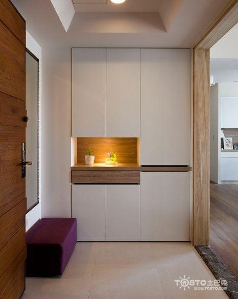 145 best entrance images on pinterest shoe closet for Interior cupboard designs for hall