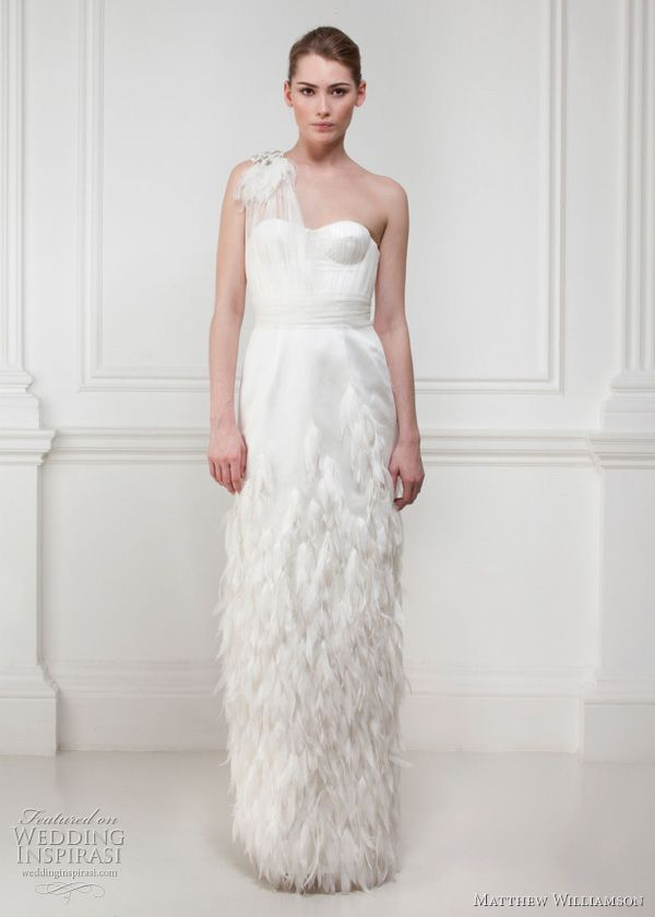 Yes, Matthew Williamson has launched a bridal collection of 12 beautiful wedding dresses and no, it has nothing to do with Kate Middleton's wedding. Description from weddinginspirasi.com. I searched for this on bing.com/images
