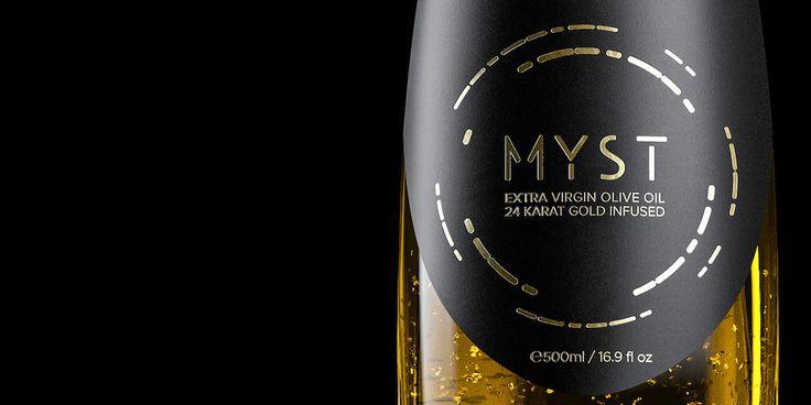 Myst Ultra Premium Olive Oil — The Dieline - Branding & Packaging Design