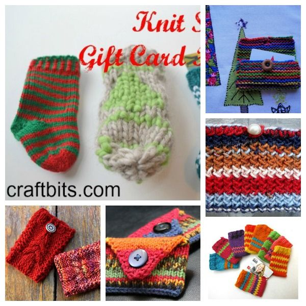 gift card holders knitted gift card holder knitting projects knitting ...