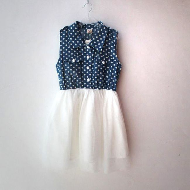 Royal blue dresses for kids 2017