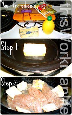 this Workman life: Crockpot Dinner: Zesty Italian Chicken
