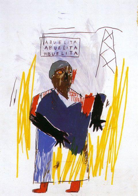 'Abuelita' by Jean-Michel Basquiat, 1981