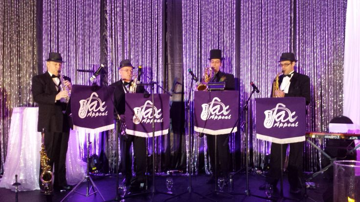 Sax Appeal at the #Ottawa #wedding #awards where we were also a #finalist for #Best #Live #Music !