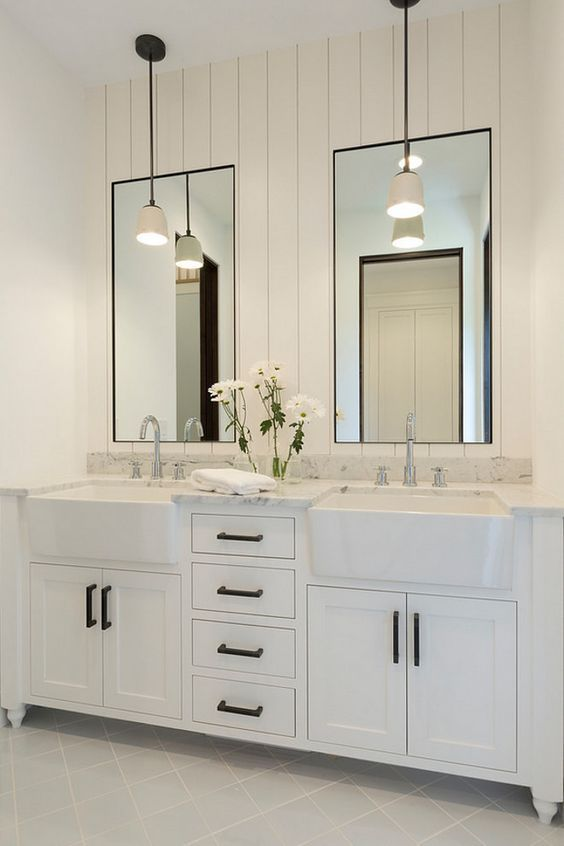 Bathroom Mirrors And Lights: 45+ Remodeled bathrooms- Discover fresh ideas, styles and tips to remodel  bathroom |,Lighting