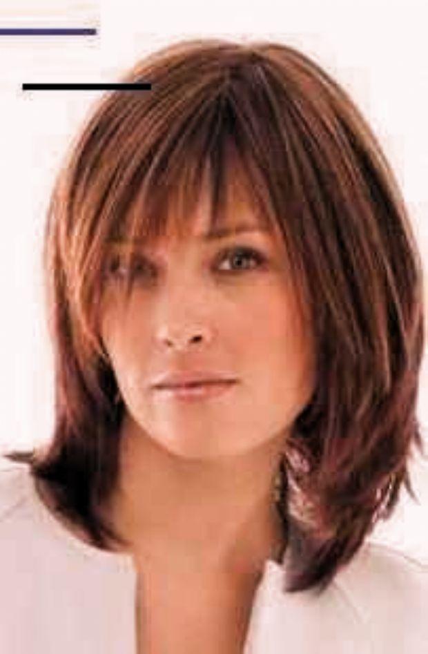 Hairstyle Women Fine Hair Medium In 2020 Medium Length Hair Styles Medium Hair Styles Thick Hair Styles
