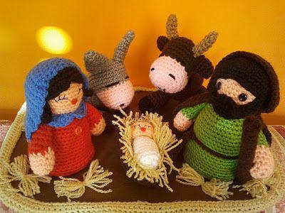 Amigurumi Navidad Nacimiento : Mejores imágenes de amigurumi en patrones
