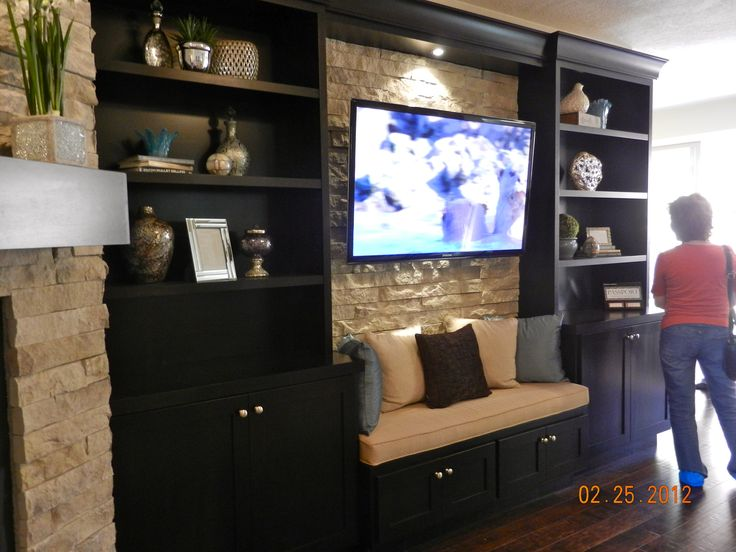 Building A Built In Home Entertainment Center