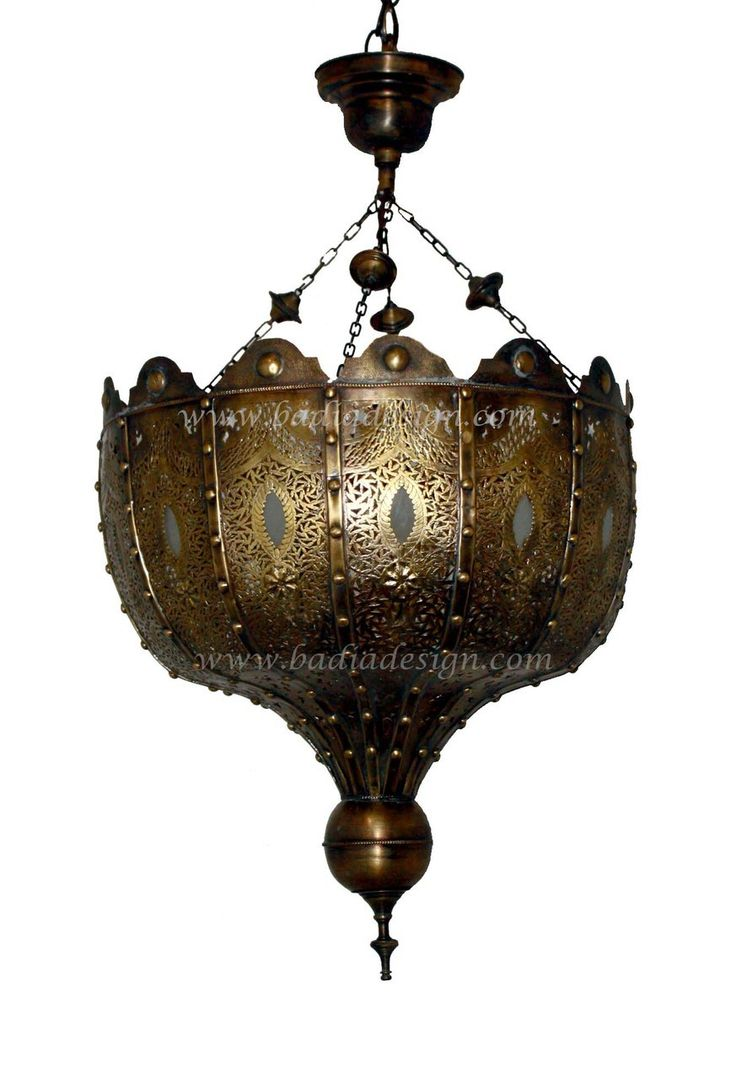 1000 images about moroccan brass and silver chandeliers imported from morocco on pinterest - Moorish chandelier ...