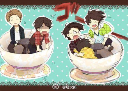 Arashi having fun