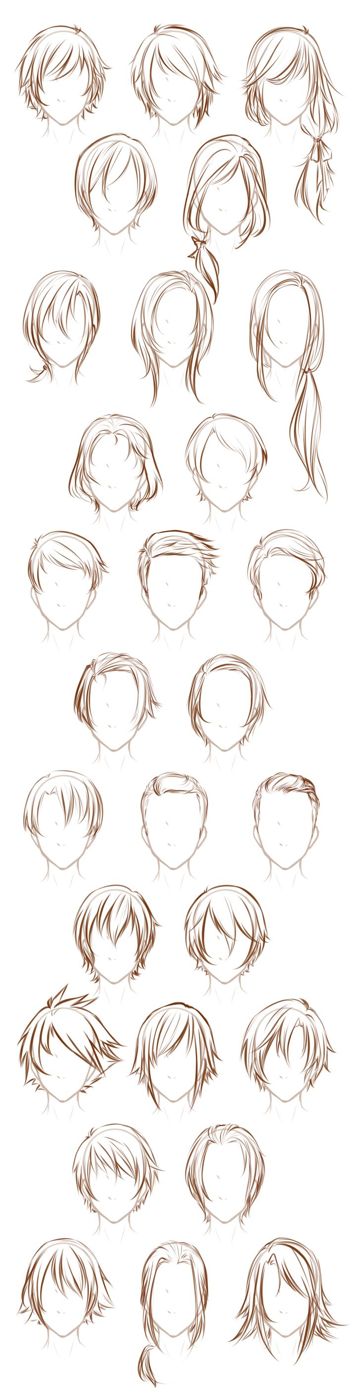 Sensational 1000 Ideas About Anime Hairstyles Male On Pinterest Hairstyles For Women Draintrainus
