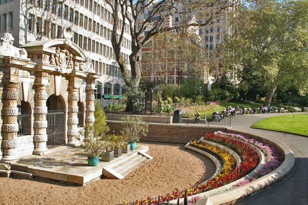 York Watergate in Victoria Embankment Gardens