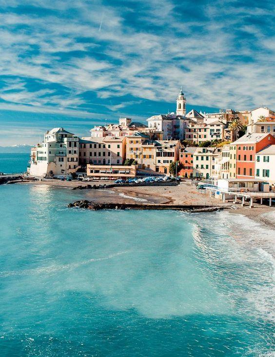 Breathtaking picture of Genoa! #liguria #travel #italy
