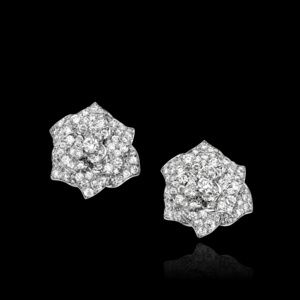 White gold Diamond Earrings - Piaget