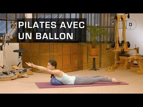 Michael King Pilates | Michael King | Pilates Choreography with miniball. - YouTube