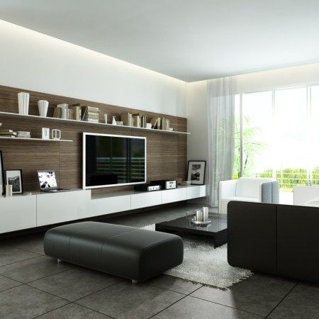Living Room With Tv Design
