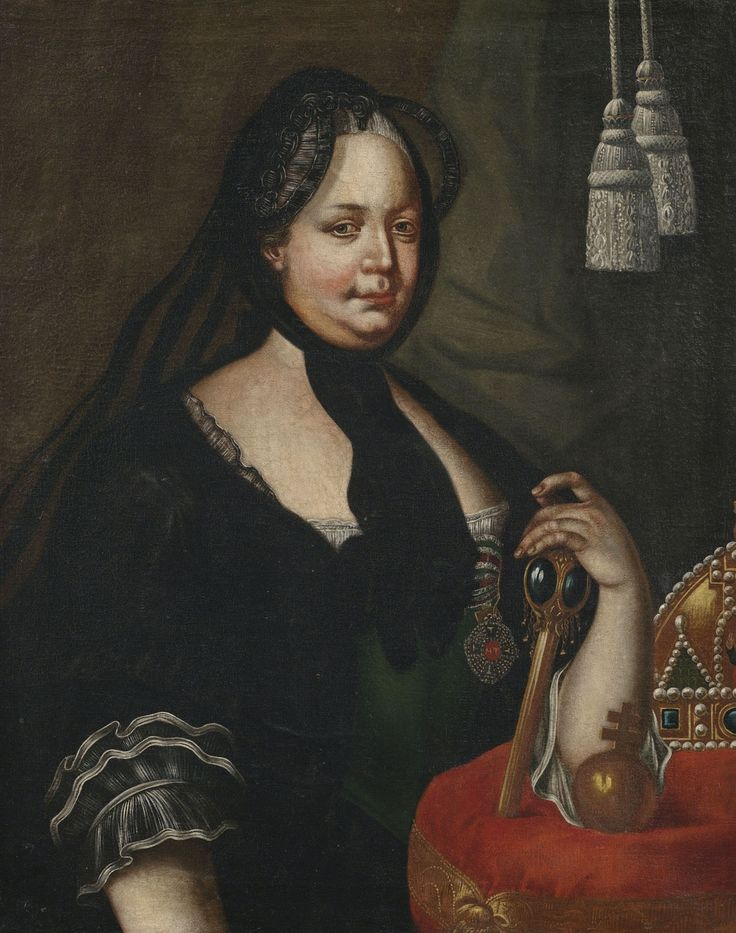 Joseph Ducreux (style of) Maria Theresia as widow