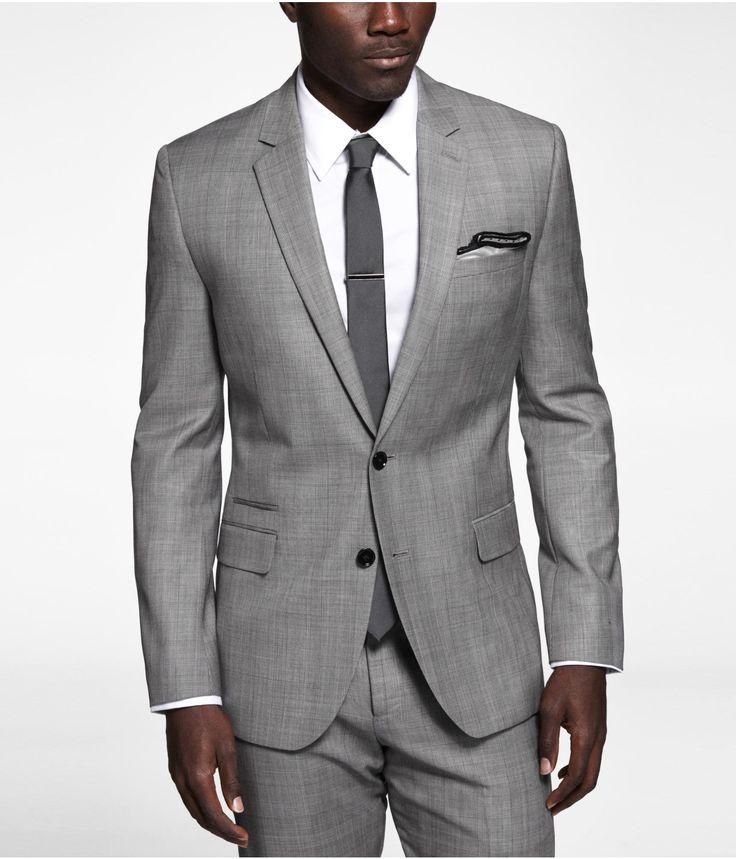 Plaid Photographer Suit Jacket Express Formal
