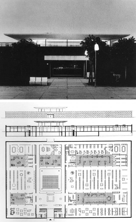 Arne Jacobsen. Rodovre Library. 1961-69.