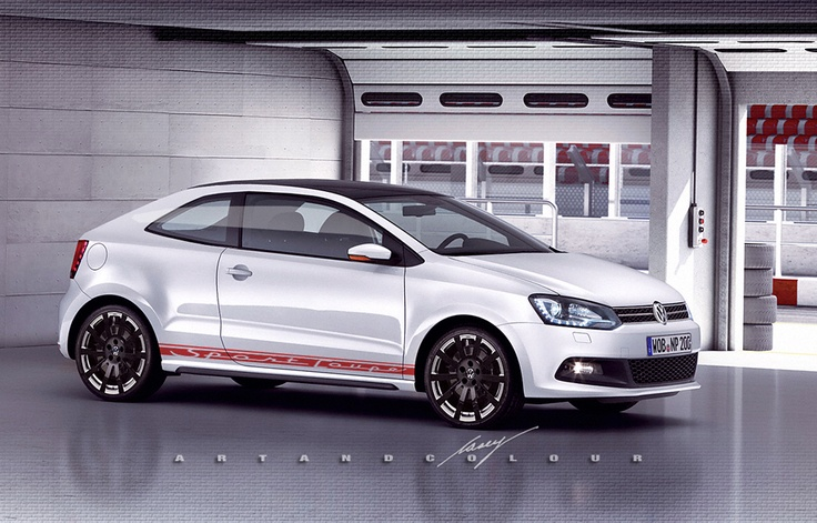 2013 VW Polo GTI sport coupe