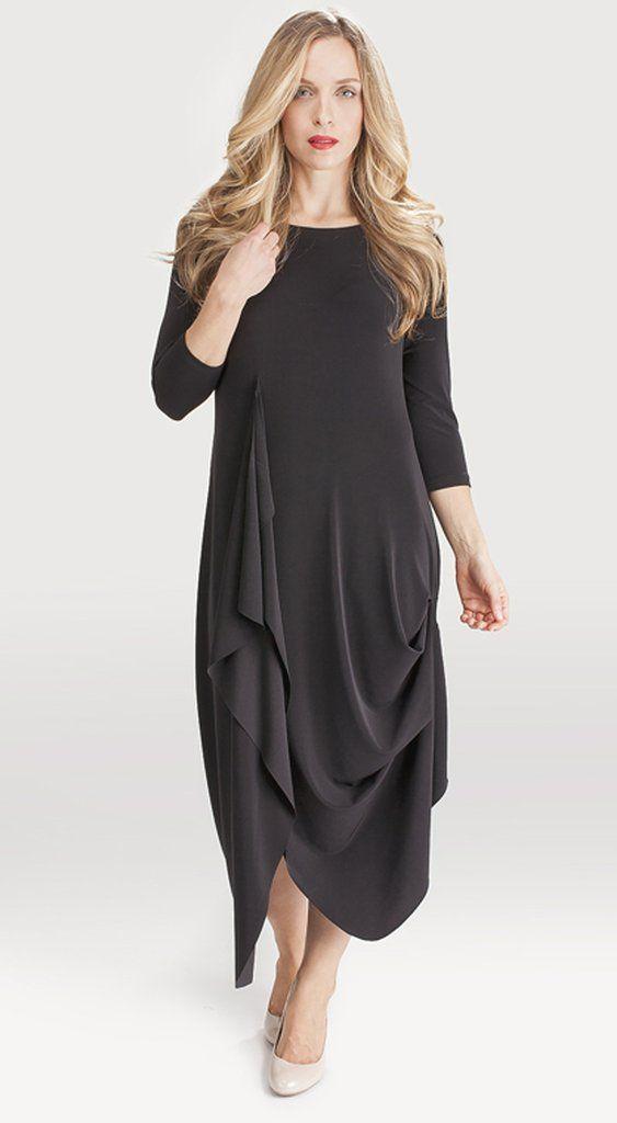 Sympli Drama Dress 3/4 Sleeve FREE shipping www.specialteesboutique.com