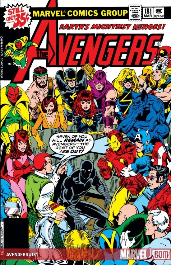 Before Agent Coulson There Was Henry Peter Gyrich From Avengers 181 ImagesComic Book CoversComic