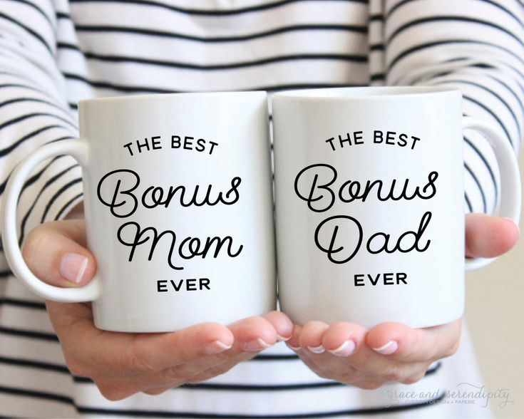 New to GraceSerendipityShop on Etsy: Best Bonus Mom Best Bonus Dad Mug - 11 OR 15 ounce mug coffee mug encouraging mug stepmom mug stepdad mug step parent gift (16.00 USD)