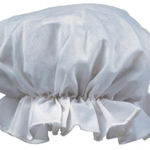 Make bonnets interesting by sewing on beads, flowers or other accents.