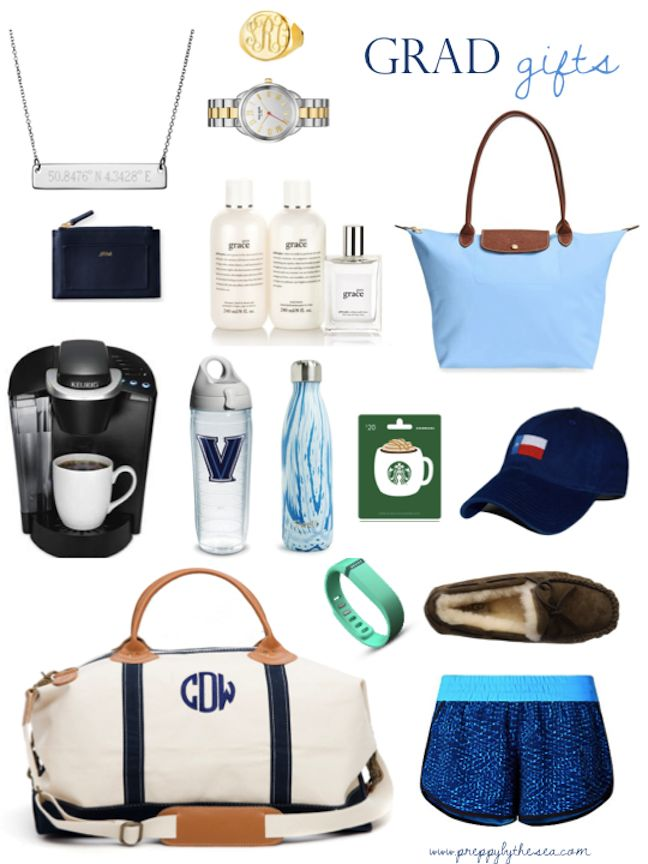 Preppy by the Sea: Graduation Gift Guide                                                                                                                                                      More