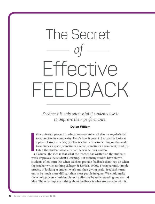 Educational Leadership - April 2016 - Page 10-11