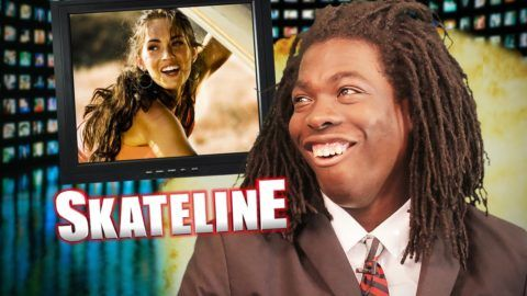 SKATELINE – Rodney Mullen, King Of The Road, Clint Walker VS. Elijah Berle & more:… #Skatevideos #berle #clint #elijah #king