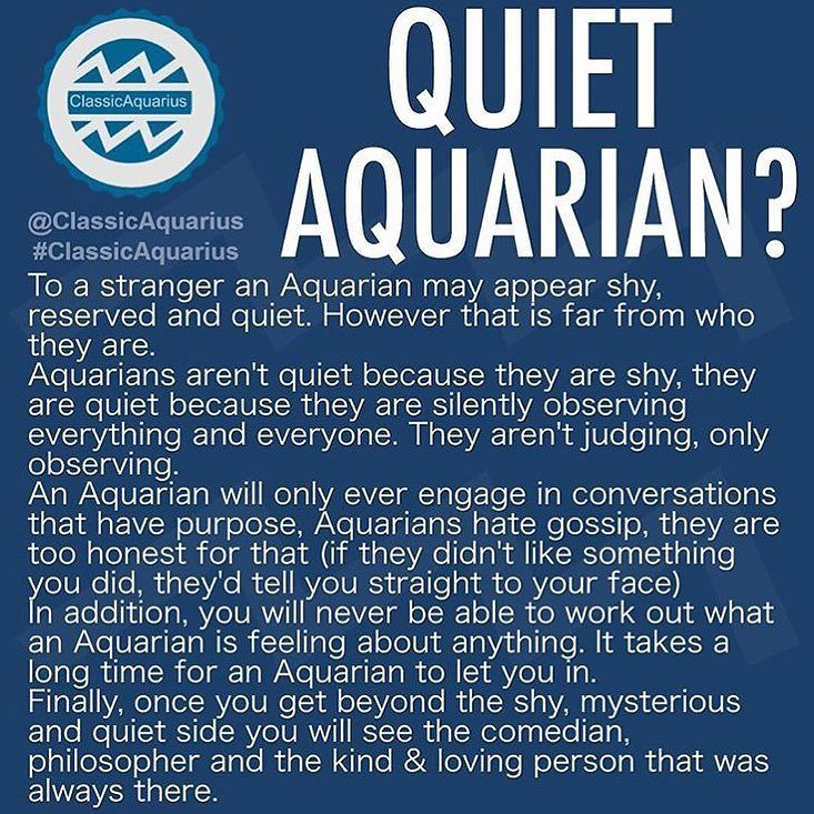 Aquarian contrarian, as some of my friends call me lol