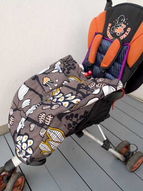 tutorial for a stroller footmuff