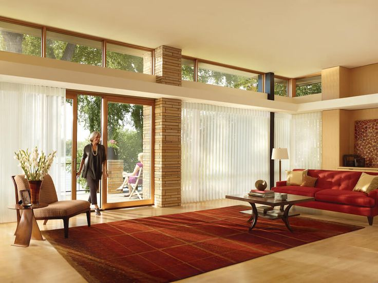 Best HUNTER DOUGLAS Images On Pinterest Window Coverings - Hunter douglas blinds for patio doors