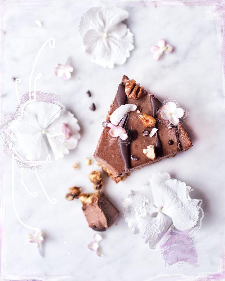 Divine Raw Chocolate Cake | by VANELJA