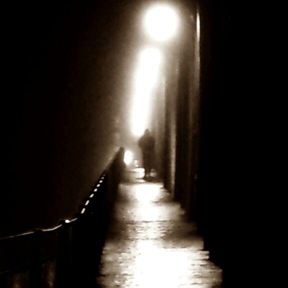 Misty bridge. ©Ann-Jorunn Jentine Aune. Photography.